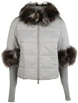Blugirl Padded Fur Jacket