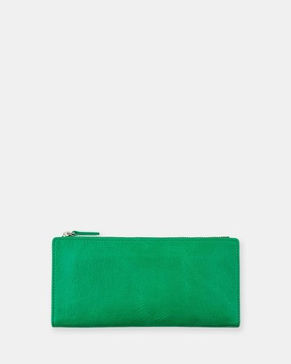 Status Anxiety Dakota - Emerald Wallet