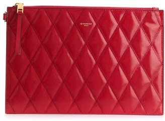 Givenchy small GV3 quilted pouch