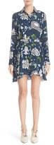 ADAM by Adam Lippes Women's Floral Print Silk Dress
