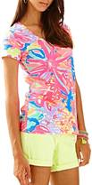 Lilly Pulitzer Michele V Neck Top