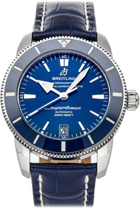 Breitling Blue Stainless Steel Superocean Heritage II B20 AB201016/C960 Men's Wristwatch 42 MM