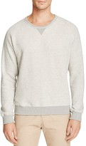 Uniform Heathered Color Block Sweatshirt
