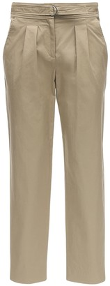 A.P.C. Sarah Cotton Blend Gabardine Pants