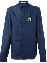 J.W.Anderson safety pin patch shirt