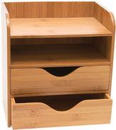 Lipper Bamboo 4-Tier Desk Organizer