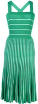 Alexis Bess stripe print dress