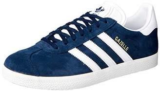 adidas Unisex Adults' Gazelle Gymnastics Shoes, Pink (Vapour Pink/White/Gold Metallic), 46 2/3 EU