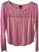 Armani Jeans Pink Cotton Knitwear for Women