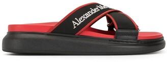 Alexander McQueen Oversized Hybrid slides