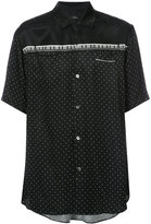 Undercover polka dot print shirt - men - Cupro/Tencel - 4