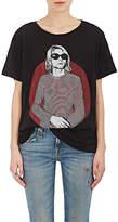 R 13 Women's Graphic Boyfriend Cotton-Cashmere T-Shirt