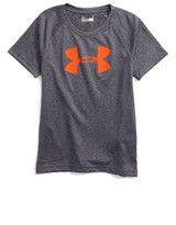 Under Armour Toddler Boy's Big Logo Heatgear T-Shirt