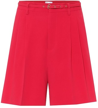 RED Valentino High-rise bermuda shorts