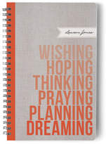 Minted Wishing. Hoping. Dreaming. Day Planner, Notebook, or Address Book