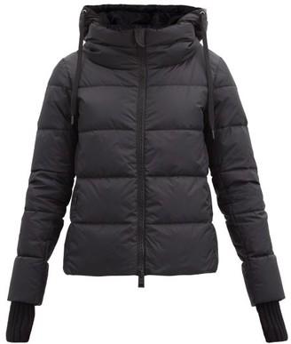 Herno Funnel-neck Down Jacket - Black