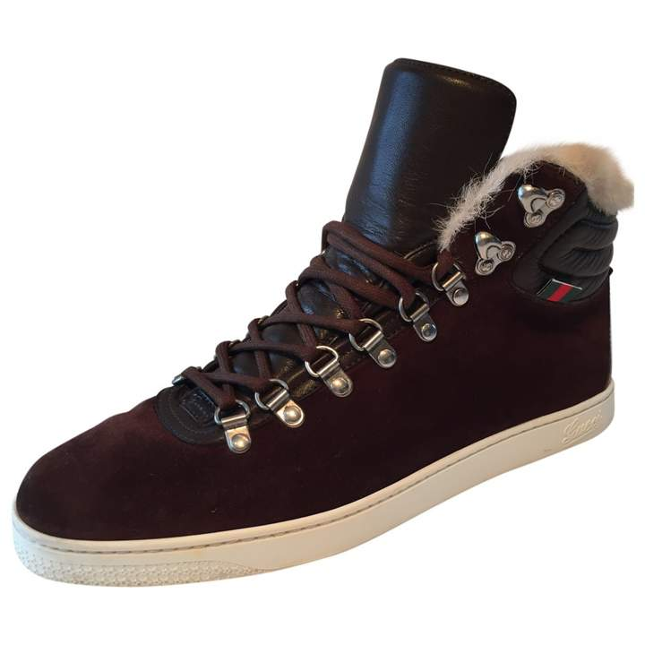Gucci High trainers
