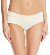 Maidenform Women's 's Dream Lace Hipster, Ivory, 8