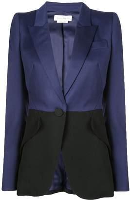 Alexander McQueen two-tone tailored blazer