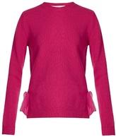 Valentino Tie-side cashmere sweater