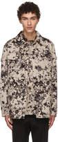 Givenchy Beige Hydrangea Jacket