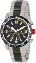 Redline red line Men's RL-60011 Cruiser Chronograph Dial Two Tone Stainless Steel Watch