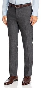 Theory Mayer Tonal Plaid Slim Fit Suit Pants