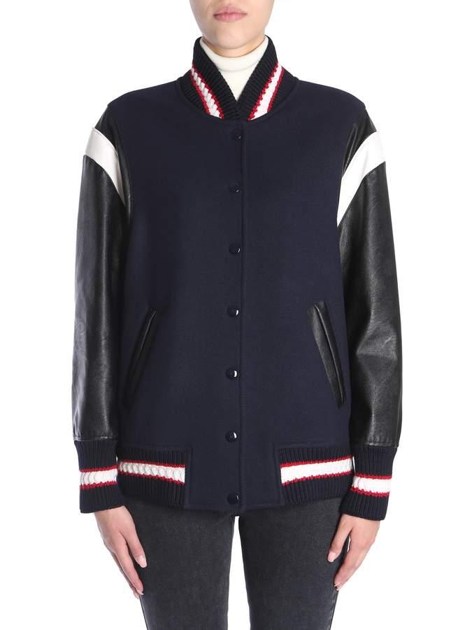 Stella McCartney Oversize Fit Bomber Jacket