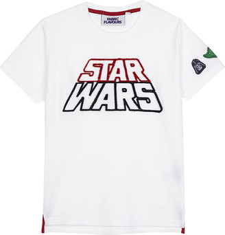Star Wars Fabric flavours tuft logo T-shirt 3-10 years