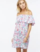 Accessorize Floral Frill Bandeau Dress