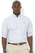 Polo Ralph Lauren Men's Big and Tall Long-Sleeve Stripe Oxford Shirt