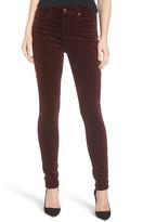 AG Jeans Women's The Farrah High Waist Velvet Jeans