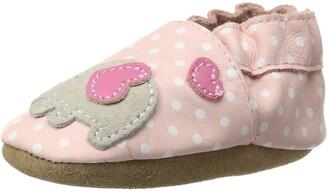 Robeez Little Peanut Crib Shoe (Infant/Toddler) Pastel Pink 18-24 Months M US Infant