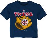 Majestic Toddlers' Minnesota Twins Baseball Mitt T-Shirt