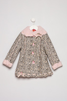 Kate Mack Leopard Dress Coat