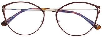 Tom Ford Classic Cat-Eye Glasses