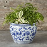 Williams-Sonoma Williams Sonoma Blue & White Ceramic Planter, Large