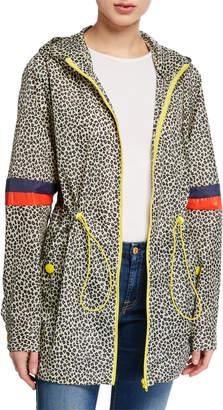 Kule The Tamu Leopard-Print Parka Jacket