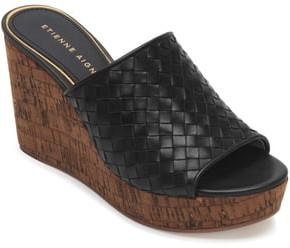 eb9d4705f Black Wedge Slides - ShopStyle
