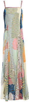 Missoni Patchwork-effect Crochet-knit Maxi Dress