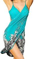 Spikerking Women's Fashion Sarongs style Beachwear Ice Silk Bikini Cover up