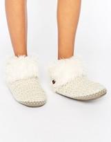 Bedroom Athletics Ariana Aran Knit Slipper Boot