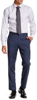 Ted Baker Jarret Blue Screen Check Wool Trouser