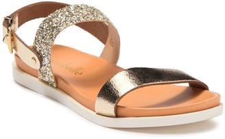 Cocobelle Sal Glitter & Leather Sandal