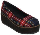 C Label Black Plaid Nata Platform Shoe