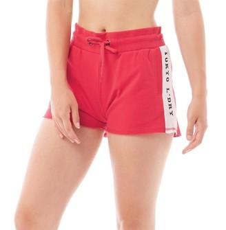Tokyo Laundry Womens Vallde Shorts Red