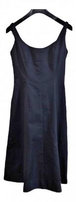 Sarah Jessica Parker Black Cotton Dress for Women