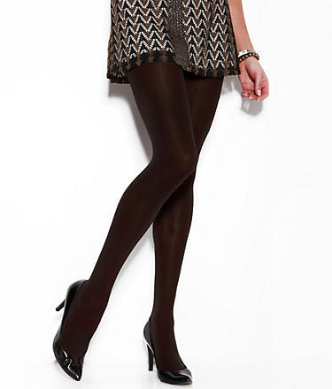 DKNY Opaque Control Top Tights 2-Pack