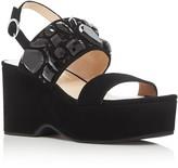 Marc Jacobs Lily Embellished Wedge Platform Sandals