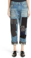 Junya Watanabe Women's Patchwork Boyfriend Jeans